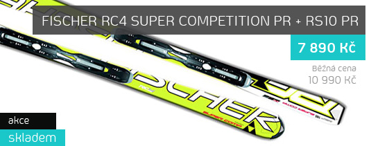 Lyže Fischer RC4 SUPER COMPETITION PR + RS10 PR